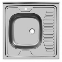 Мойка Ukinox Стандарт STD600.600 ---4C 0L-, левая