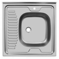 Мойка Ukinox Стандарт STD600.600 ---4C 0R-, правая