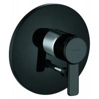 Встраиваемый смеситель для ванны Kludi Zenta 386508675 черный