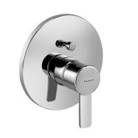 Встраиваемый смеситель для ванны Kludi Zenta 386570575 хром