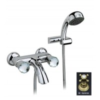 Nicolazzi Cristallo 2002 BZ для ванны, бронза/кристалл Swarovski