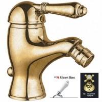 Nicolazzi Classica Lusso 3403 GB 76 золотая латунь/белая ручка