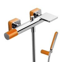 Tres Loft 20017001NA оранжевый/хром для ванны