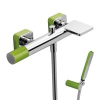 Tres Loft 20017001VE зеленый/хром для ванны