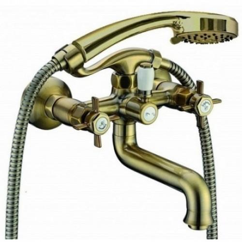 Смеситель Bennberg 521222 для ванны, бронза