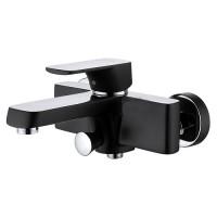 Смеситель D&K Berlin Technishe DA1433215 для ванны, черный