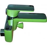 Смеситель D&K Berlin Humboldt DA1433212 для ванны зеленый