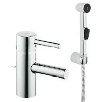 Смеситель Grohe Essence 32535000 для раковины с гигиеническим душем