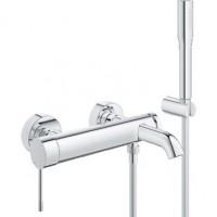 Смеситель Grohe Essence 33628001 для ванны, с душ. набором