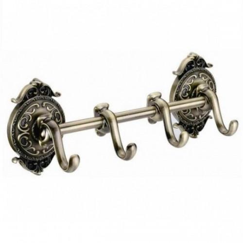 Вешалка с 4 крючками Hayta 13902-4 Bronze