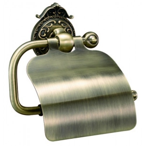Бумагодержатель с крышкой Hayta 13903-4 Bronze