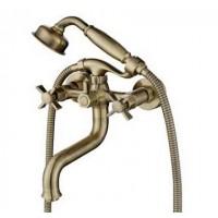 Смеситель Kaiser Cross 41022-1 бронза для ванны