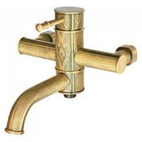 Смеситель Kaiser Milos 51022-1Br бронза для ванны