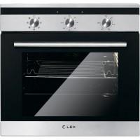 Lex EDM 070 IX черное стекло/нержавеющая сталь