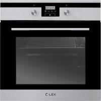Lex EDP 093 IX черное стекло/нержавеющая сталь