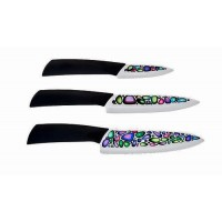Набор ножей Mikadzo IMARI WHITE (3 ножа) на деревя