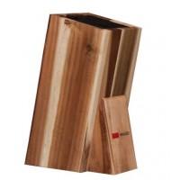 Универсальная деревянная подставка для хранения ножей Mikadzo UN-PL5