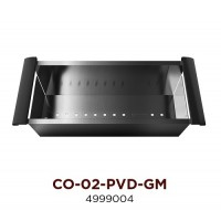 Коландер OMOIKIRI CO-02-PVD-GM (4999004) Вороненая
