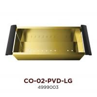Коландер OMOIKIRI CO-02-PVD-LG (4999003) Светлое золото