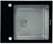 Мойка Seaman Eco Glass SMG-610 Black, черное стекло