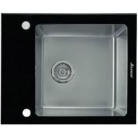Мойка Seaman Eco Glass SMG-610 Black, черное стекл