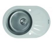 Мойка Seaman Eco Glass SMG-730 White, белое стекло