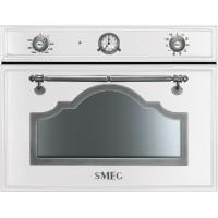 Smeg SF4750MCBS белый/серебро