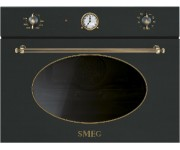 Smeg SF4800MCAO антрацит/латунь