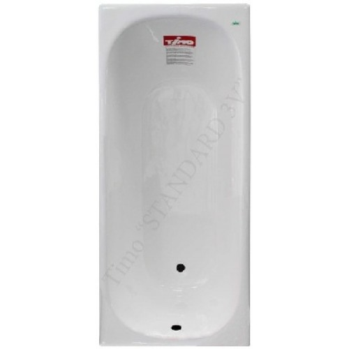 Чугунная ванна Timo Standard 3v 170x75x46 (ножки в комплекте)