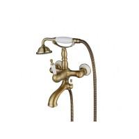 Смеситель для ванны Aksy Bagno Faenza 401 Bronze