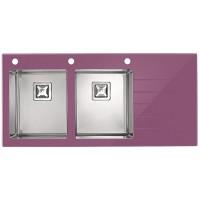Alveus Crystalix 30 фиолетовое стекло, левая