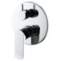 Смеситель BelBagno Disco DIS-BASM-CRM для ванны и душа хром