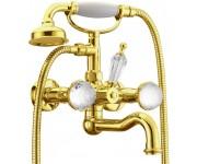 Смеситель для ванны Boheme Imperiale Presente 333, золото
