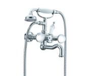 Смеситель для ванны Boheme Brillante Presente 353, хром