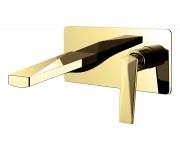 Смеситель для умывальника Boheme Venturo 385, золото