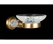 Мыльница настенная Boheme Murano Cristal 10903-CRST-BR