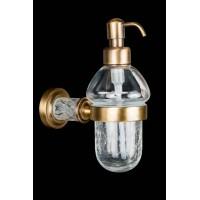 Настенный дозатор Boheme Murano Cristal 10912-CRST-BR