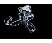 Смеситель для ванны Boheme Vogue Cristal 223-CRST