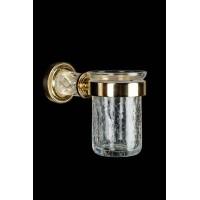 Стакан для зубных щеток Boheme Murano Cristal 10904-CRST-G