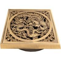 Решетка душевая Bronze de Luxe 21986 бронза