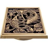 Решетка душевая Bronze de Luxe 21980 бронза