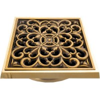 Решетка душевая Bronze de Luxe 21962 бронза