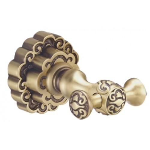 Bronze de Luxe K25205 двойной крючок, бронза