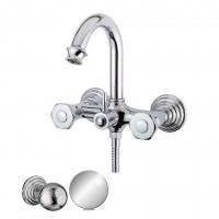 Смеситель Cezares Aphrodite APHRODITE-V-01-M для ванны хром, ручки Шар