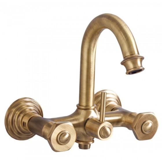 Смеситель Cezares Aphrodite APHRODITE-V-02 для ванны бронза