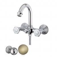 Смеситель Cezares Aphrodite APHRODITE-V-02-M для ванны бронза, ручки Шар