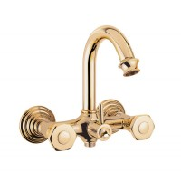 Смеситель Cezares Aphrodite APHRODITE-V-03/24 для ванны золото