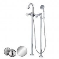 Смеситель Cezares Aphrodite APHRODITE-VDP-01-M для ванны хром, ручки Шар