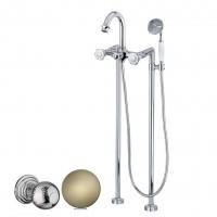 Смеситель Cezares Aphrodite APHRODITE-VDP-02-M для ванны бронза, ручки Шар