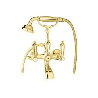 Смеситель Cezares First FIRST-VD-03/24-M для ванны золото, ручки золото
